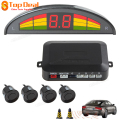 Hot Sale 4 Sensors Kit Easy Install Vehicle Intelligent Digital Led Display Car Parking Set With Car Cigarette Lighter