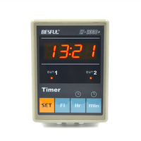 LT 233D+ digital panel timer with can set 3 periods for each output per day 00:00~23:59 multi periods timer meter