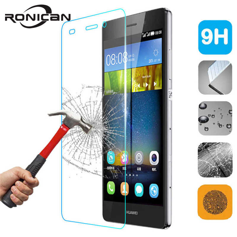 Explosion Proof Screen Protector For Huawei P8 P9 P10 P20 Lite 2017 Honor 5C 6A 7 8 Premium Tempered Glass Protective Cover Film