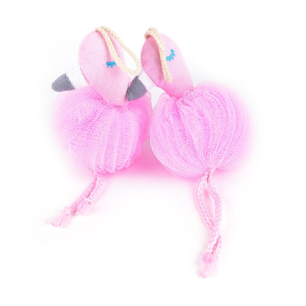 Flamingo Bad Bal Bathsite Badkuipen Scrubber Body Reinigen Mesh Douche Wassen Product Cool Bal Badhanddoek Goed Voor Energie En De Milt