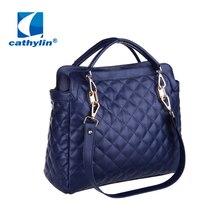 New Women Handbag PU Leather Handbag Women Messenger Bag Splice Grafting Crossbody Bags Top-Handle Shoulder Women Bag