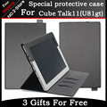 "For Cube Talk11 Case PU leather Case Special flip Cover Case For cube u81 talk11 10.6"" Tablet PC"