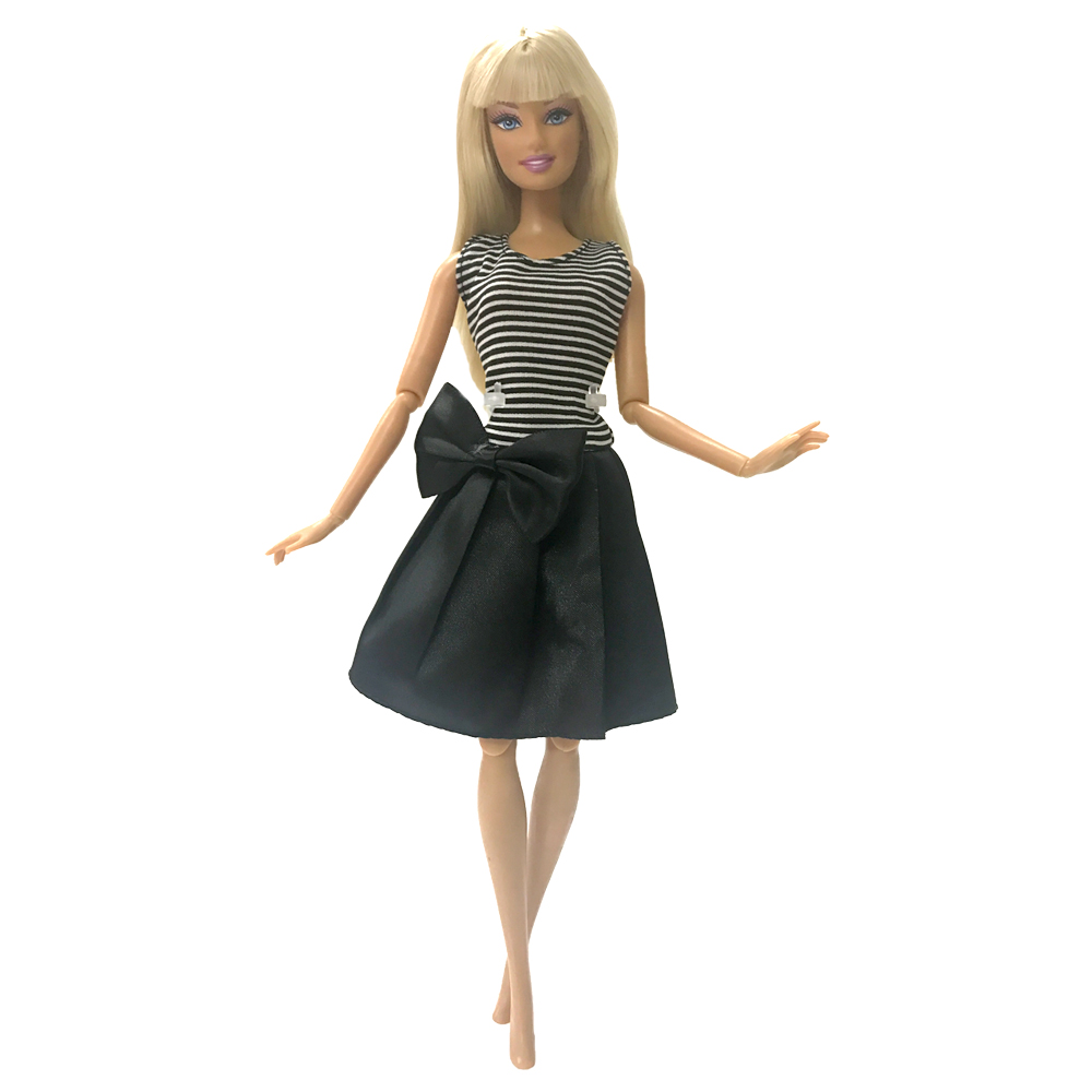 NK News One Pcs Doll Clothes Dress Fashion Lovely Skirt Party Gown For Barbie Doll Girl Best Gift G086