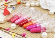 Hot! Lip Gloss Pen Waterproof Lipgloss Cosmetic Makeup Lip Stick 15 Colors Lipstick Batom 1pcs Free Shipping