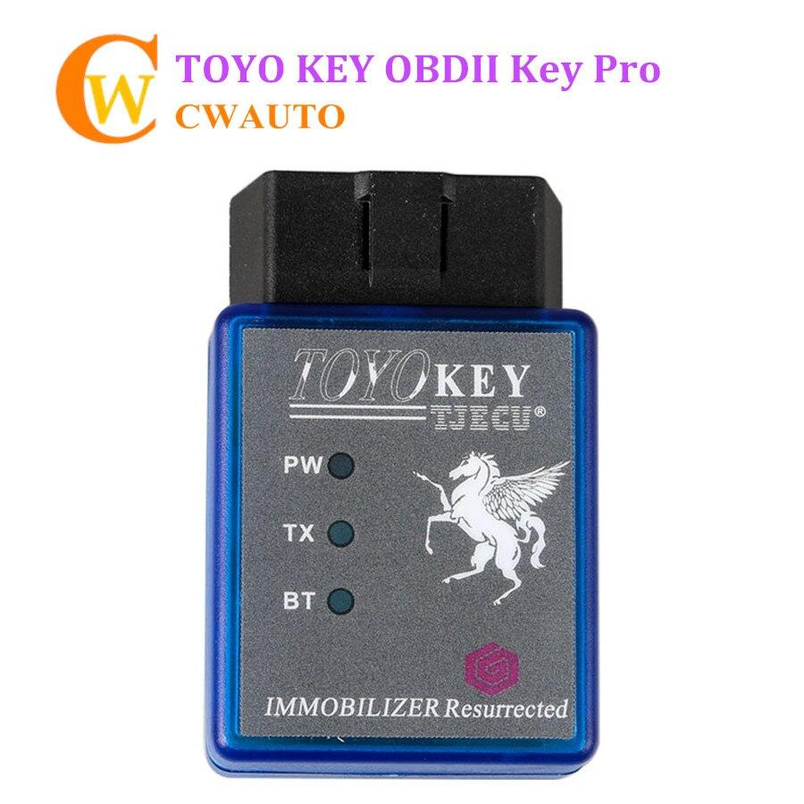 TOYO KEY OBD II KEY PRO Work with Mini CN900 Mini900 Support G and H All