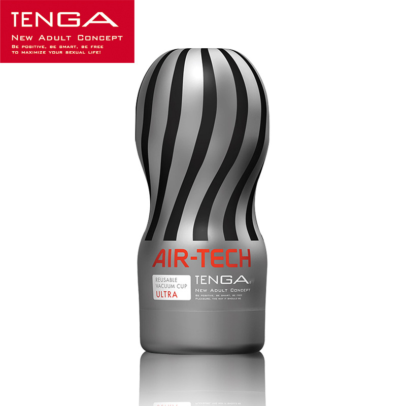 TENGA AIR TECH Vaccum Masturbator Cup Silicone Pussy Artificial Vagina Realistic Vagina Adult Sex Toys for Men ATH-001G tenga flip lite hi tech reusable male masturbator sex toys for men pocket pussy masturbation cup artificial vagina sex products