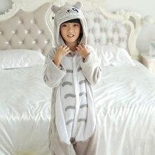 Crianças Kigurumi Pijama gato Dos Desenhos Animados Meninas Meninos Crianças Traje Sleepwear Macacão infantil Anime Onesie Animal4 6 8 10 12 ano