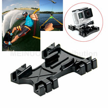 Wakeboard Cable Mount Kite Line Mount for Gopro Hero 5 4 3+ 3 SJCAM Action Camera Mount Kiteboarding & Windsurfing