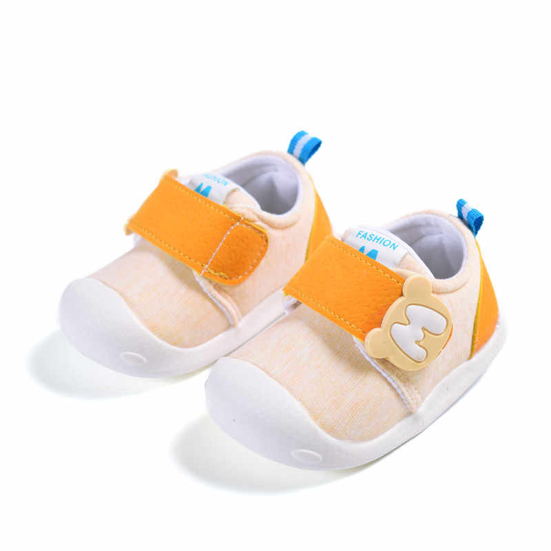 60facc8c6f22 ... AOGT 2019 Kids Baby Shoes Soft Non-slip Infant First Walkers Cotton  Fabric Breathable Baby