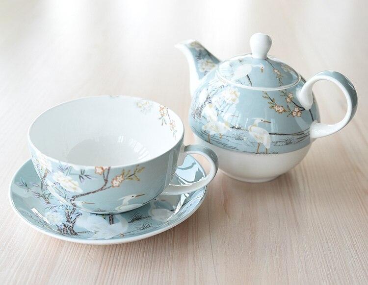 copo pote chá da tarde conjunto bule