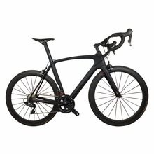 2018 Chinese Factory Carbon Road Complete Bike Aero Racing Carbon Bicycle with R8000 Groupset Complete Bicycle