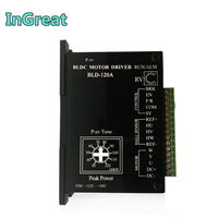 Brushless Drive 12V 24V BLDC Driver Hall Drive 8A Controller Adjustable Speed PWM for 80W 100W 120W Brushless Motor 3PH