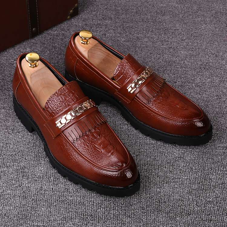 men casual personality dress snake print soft leather shoes flats platform oxfords shoe slip on lazy driving loafers round toe rastar радиоуправляемая модель audi r8 lms цвет белый красный масштаб 1 14