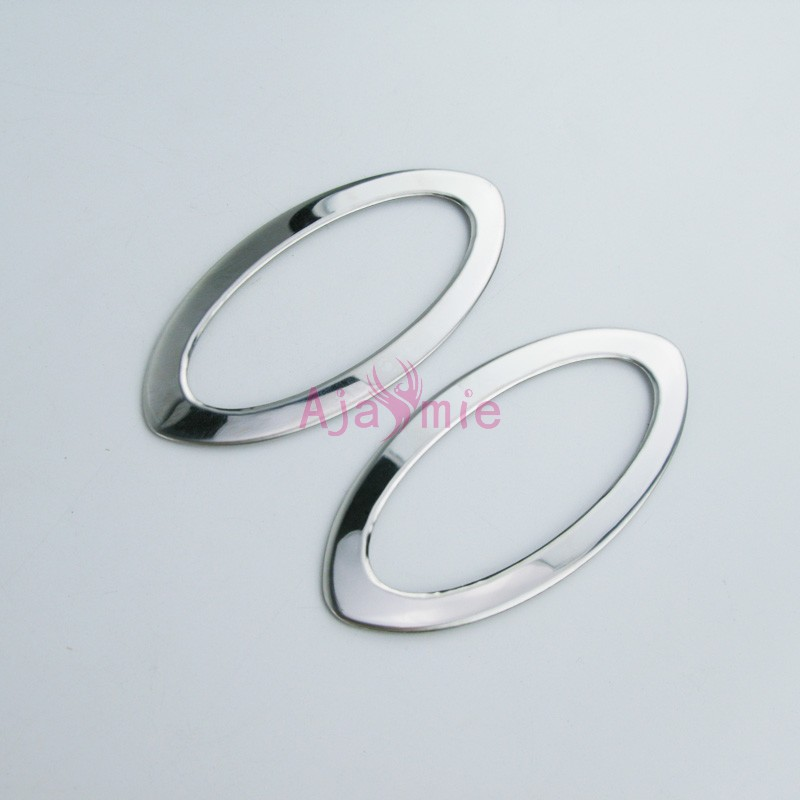 Side Lamp Cover Bumper Trim 2011 2013 2014 2016 2017 Stainless Steel 2 pcs Chrome Car Styling For Nissan Juke Accessories in Chromium Styling from Automobiles Motorcycles