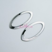 Side Lamp Cover Bumper Trim 2011-2013 2014-2016 2017 Stainless Steel 2 pcs Chrome Car Styling For Nissan Juke Accessories