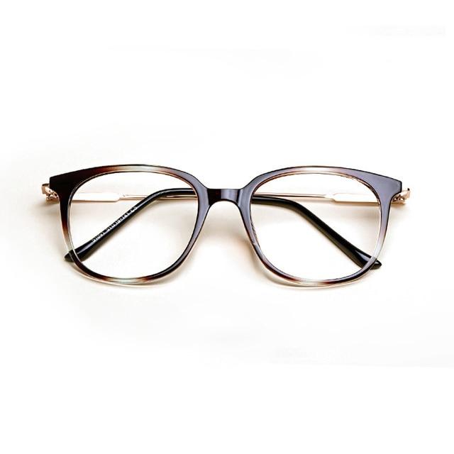 18a8a370f3 2017 Fashion women eyeglasses Myopia spectacles Frame Retro round glasses  Vintage optical eyewear frame men prescription