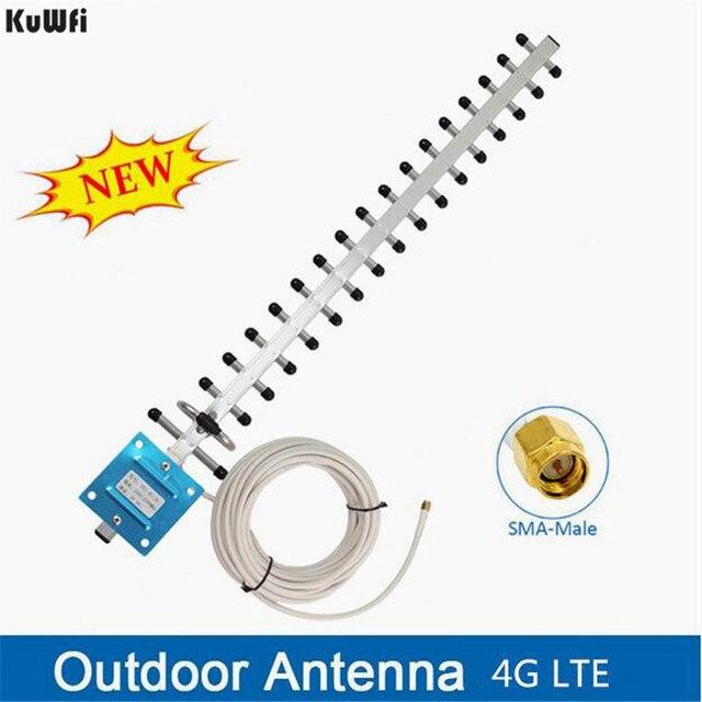 KuWFi antenne Wifi antenne 4G LTE antenne SMA mâle WIFI antenne directionnelle 20dBi 4G routeur antenne 2500 2700 Mhz pour routeurs