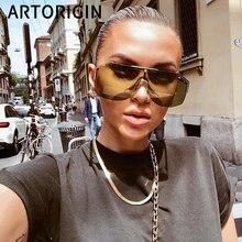 Brand Sunglasses Women Luxury Design Shield Mask Sun Glasses