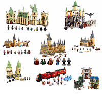 [New] Movie Series Harry Potter Hogwarts Castle with Legoingly Building Blocks Bricks Kits Compatible With legoingly