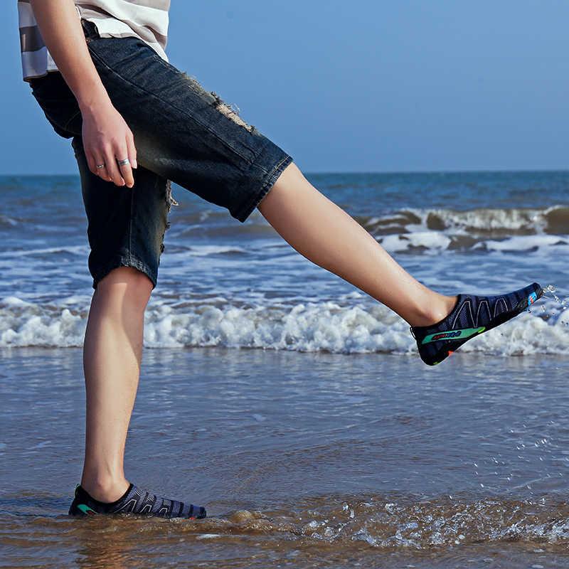 Unisex Strand Water Schoenen Sneldrogend Zwemmen Aqua Schoenen Seaside Slippers Surf Upstream Licht Sport Water Schoenen Sneakers