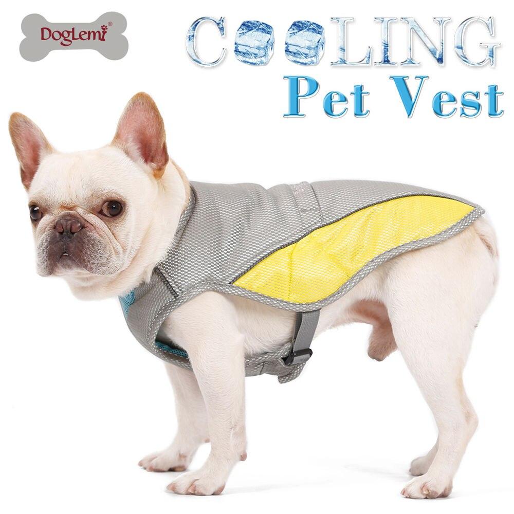 Summer Dog Cooling Vest Jacket Coat Breathable Cool