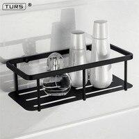 Electroplated SUS 304 Stainless Steel Bathroom Basket Shelf Single Tier Square Basket Shelf Toilet Rack Bathroom Accessories