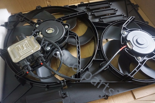 Cooling Electric Radiator Fan For Volvo S80 V60 Xc70 S60
