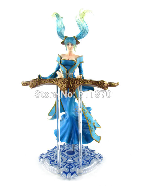 LOL Cosplay Maven Of The Strings Sona 33cm/13.0'' Boxed HI-Q PVC GK Garage Kit Action Figures Model Toys vocaloid cosplay hatsune miku q version boxed pvc small gk garage kit action figures model toys 4pcs set