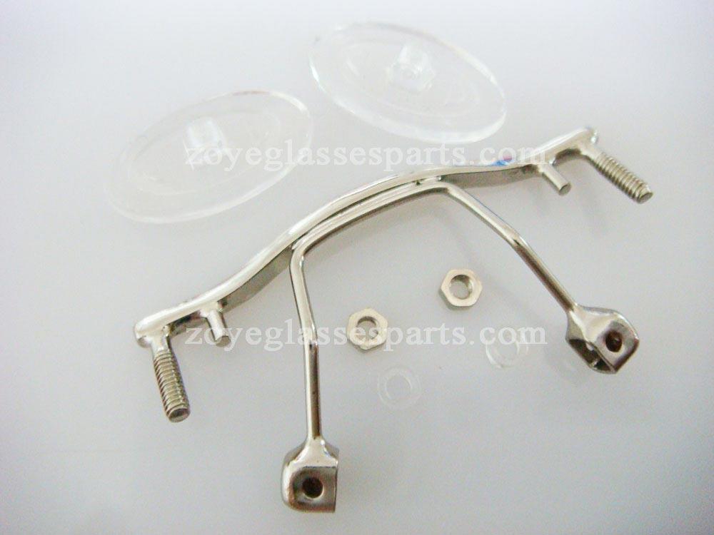 Gafas reparaciones piezas, puente para el marco sin montura, color ...