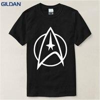 2017 Hot Fresh Printed Fashion Design Funny T Shirt Star Trek High Quality Clothes STARFLEET T