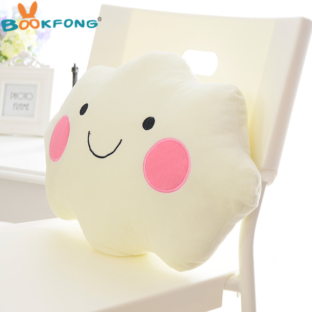 Kawaii Soft Plush Smiley Faced Toy
