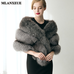 Winter women faux fox fur vest 2017 fashion bride brand design fur vests fashion luxury women.jpg 250x250