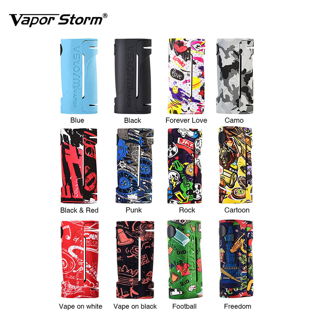 Hot Sale Vape Vapor Storm ECO Box Mod Max 90W Output Support Bypass Mode No 18650 Battery Vape Box Mod Vs Vapor Storm Storm230