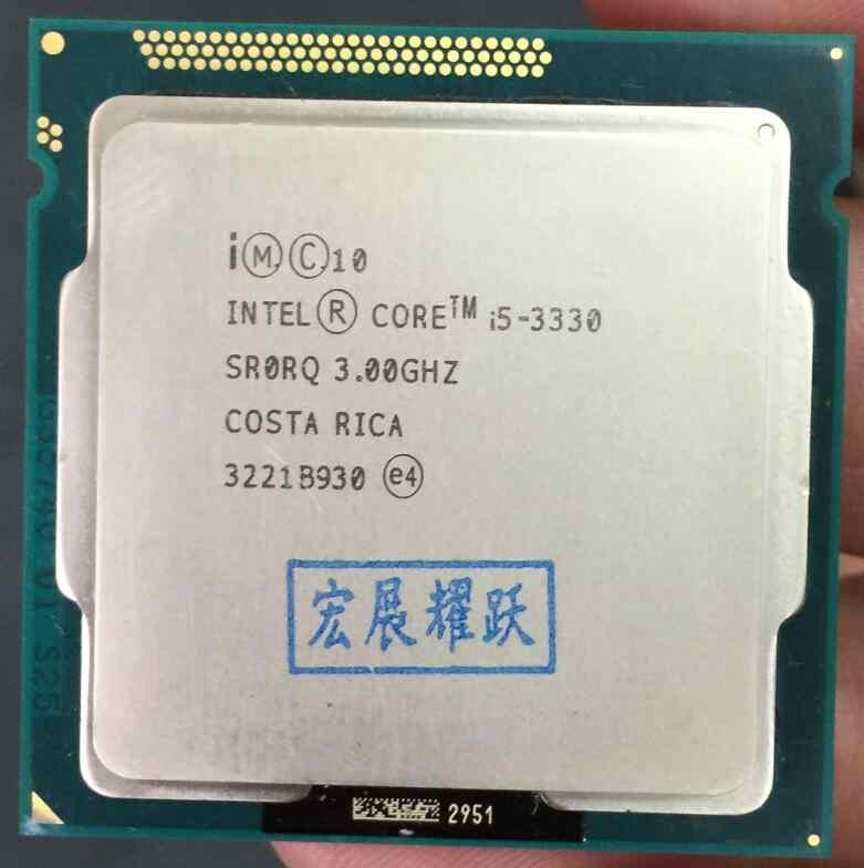 Процессор Intel Core i5 3330 i5-3330 (6 Мб кэш-памяти, 3,0 ГГц) LGA1155 CPU 100%, работающий корректно
