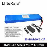 Liitokala 36 V 10AH 500 w High Power und Kapazität 42 v 18650 Lithium Batterie Elektrische Motorrad Fahrrad Roller mit BMS