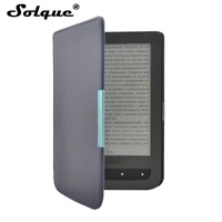 Slim Leather EBook Case For Pocketbook 626 Plus Funda Magnet Flip Cover For Pocket Book Touch