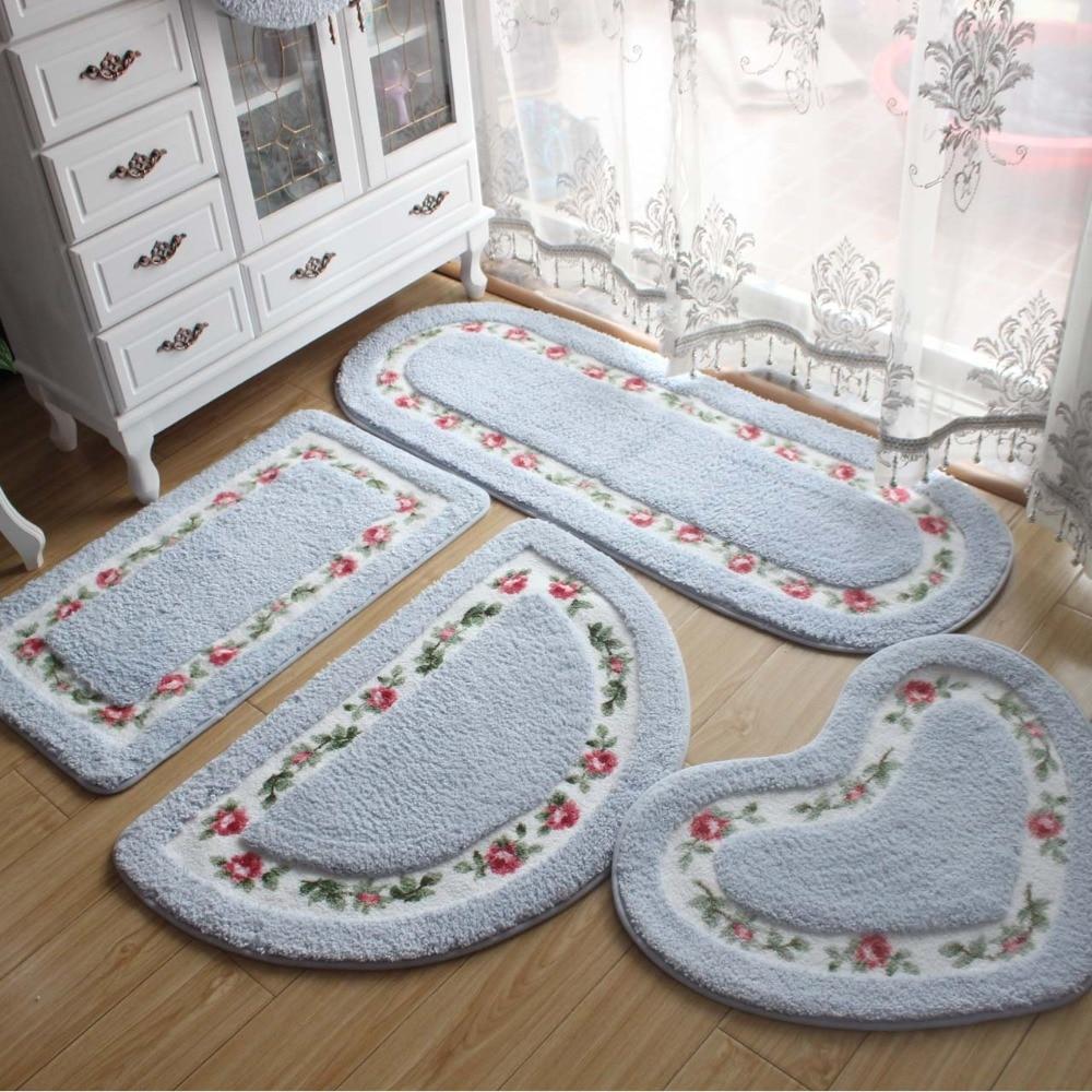 Pastoral Style Kopalniška preproga Spalna preproga 1pcs Home Decor - Gospodinjski izdelki