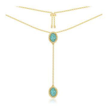 MeiBaPJ nouvelle mode SOLSEIL couleur dorée collier pour femmes réel S925 en argent Sterling à la mode Fine fête bijoux