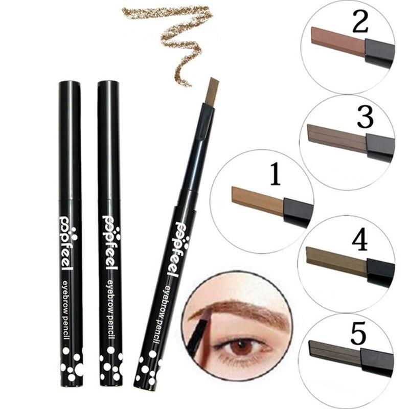 US $0 71 32% OFF|1PC Professional Eye Brow Pencil Shaping Makeup Kit  Waterproof Natural Brown Black Eye Tint Eyebrow Pencil Pen Makeup Tool-in  Eyebrow