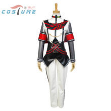 Vocaloid Project DIVA-f KAITO Uniform Top Inner Shirt Pants Gloves Anime Halloween Cosplay Costumes For Women Custom Made