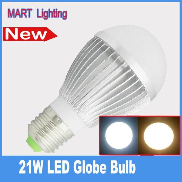 High quality 21W E27  led globe light bulbs SMD high power energy saving lamp