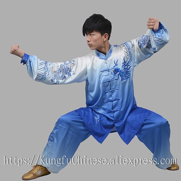 Chinese Tai chi clothing Martial arts suit taiji clothes wushu uniform kungfu outfit for women men