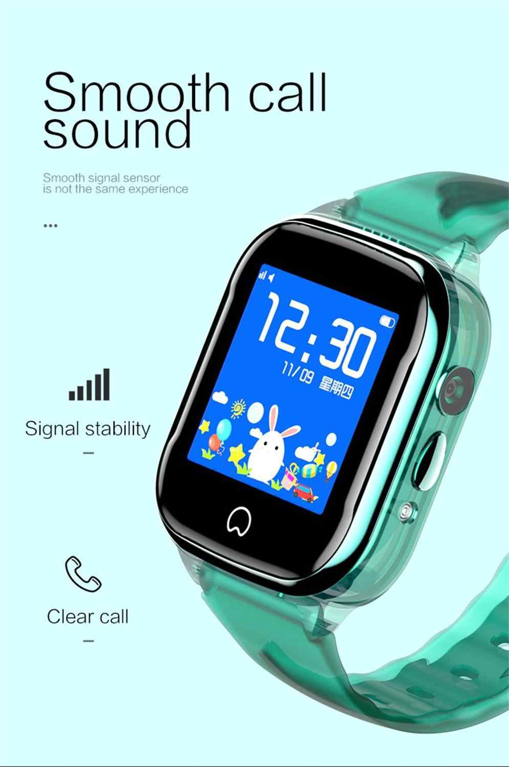 GPS Child Smart Watch Kids Watch Phone Baby Smartwatch with Camera SOS Call SIM Card LBS Location IP67 Waterproof  Touch Screen