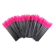 Set of 50 Disposable Eyelash Brushes