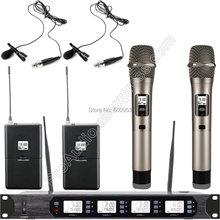 Беспроводная цифровая микрофонная система micwl uhf 400 каналов