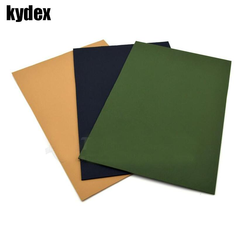 Landscape Plastic Thickness : Knife diy material handle case kydex plastic plate hot