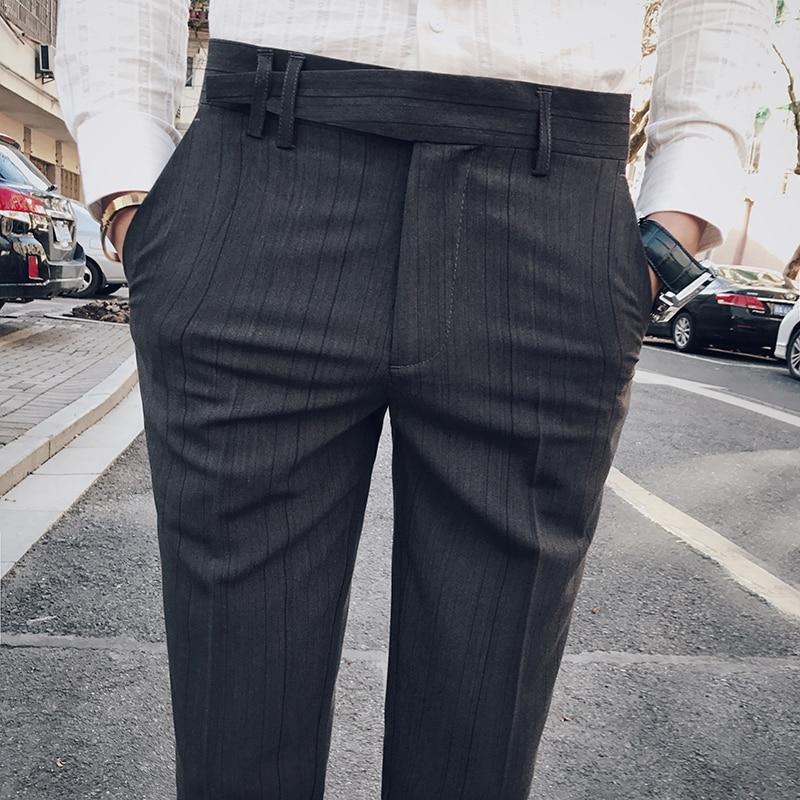 2018 Tavaszi Férfi alkalmi Slim Bound Feet Bokavédő nadrág Tide - Férfi ruházat