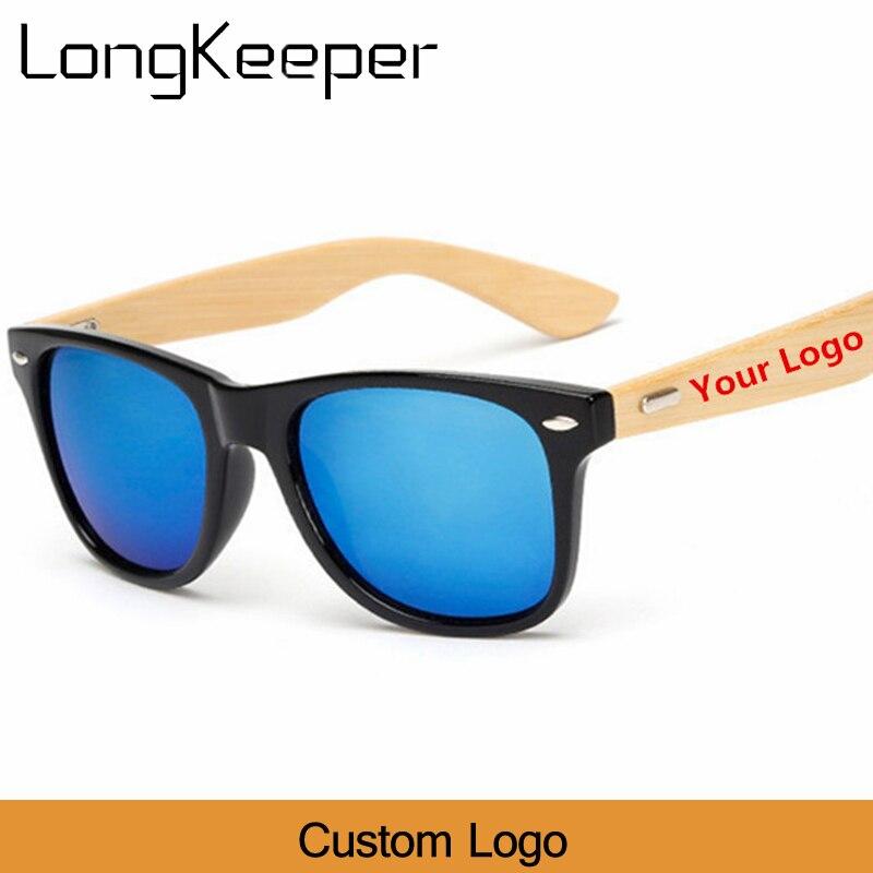 Custom Logo Bamboo Foot Sunglasses Men Wooden Sunglasses Women Original Wood Sun Glasses Customerized 20 pcs