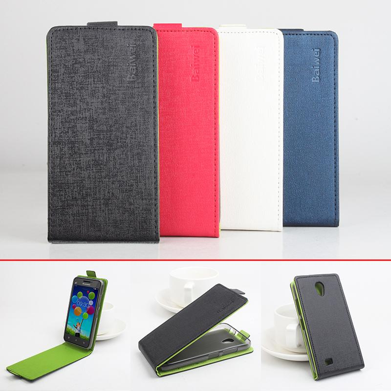 Phone Cases For Lenovo A3800 Fashion Hit Color Flip PU Leather Case Cover For Lenovo A3800 Card Slot