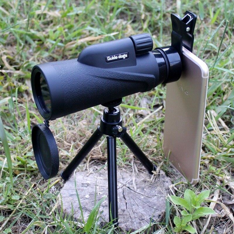 IPX7 Waterproof Sport Telescope Hunting Hiking Monoculars 10x42 Internal Nitrogen Filling BAK4 Lens Zoom Night Vision Fishing